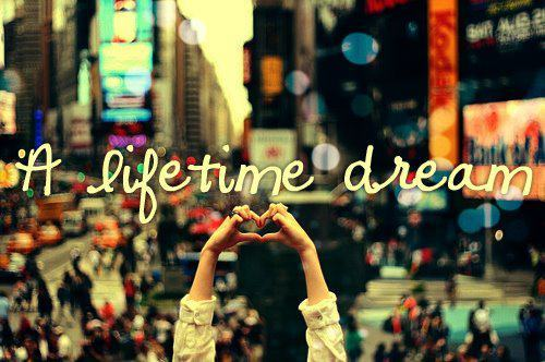 dream, lifetime, love, new york