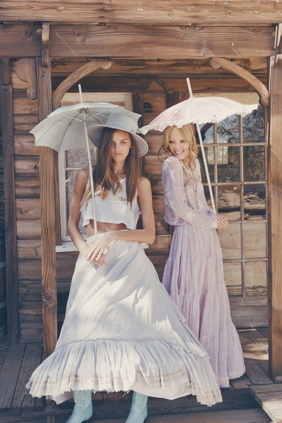 dress, fashion, girl, umbrella, wildfox