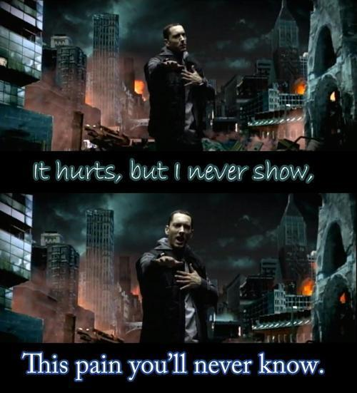 drop, eminem, hurts, know, lil