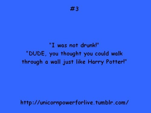 drunk, funny, harry poter, jokes, text