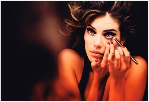 eyeliner, eyes, girl, hair, make up