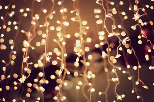 fairy lights, lights, pretty