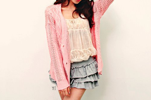 fashion, fashionista, pink, style, stylish, sweater, vute