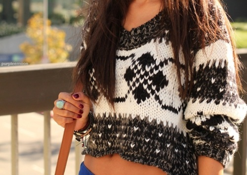 fashion, knitted, sweater