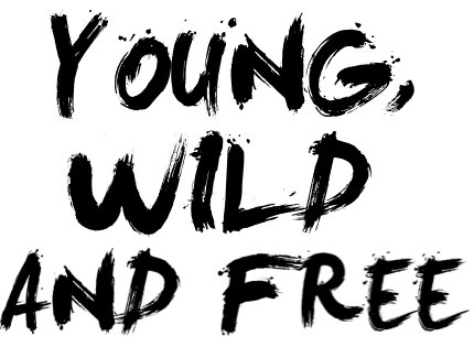 free, khalifa, quotes, text, wild, wiz, young, First Set on Favim.com