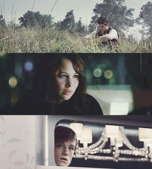gale hawthrone, katniss everdeen, peeta mellark, star crossed lovers, the boy with bread