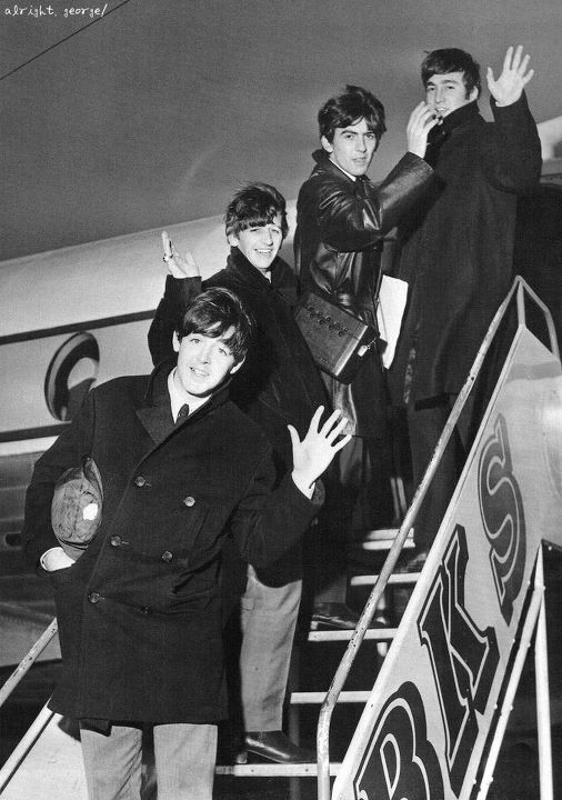 george harrison, john lennon, paul mccartney, ringo starr, the beatles