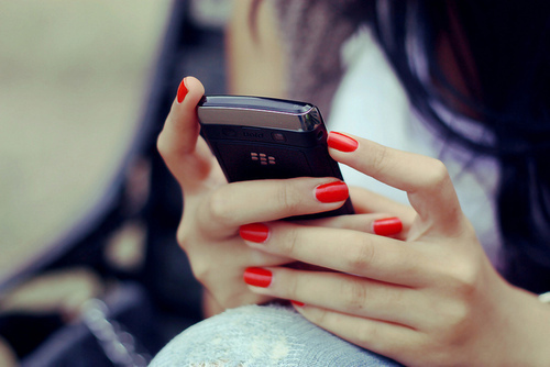 Image result for girl with the phone in the hand
