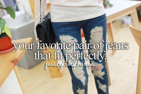 girly things, jeans, love, perfectly