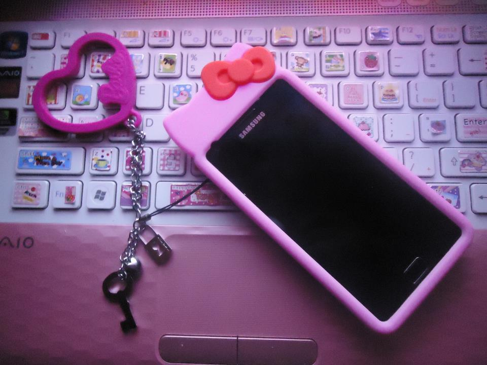 hello kitty, pink, samsung galaxy s2, samsung galaxy sii