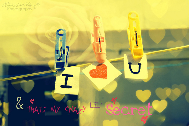 i love u, secret, text