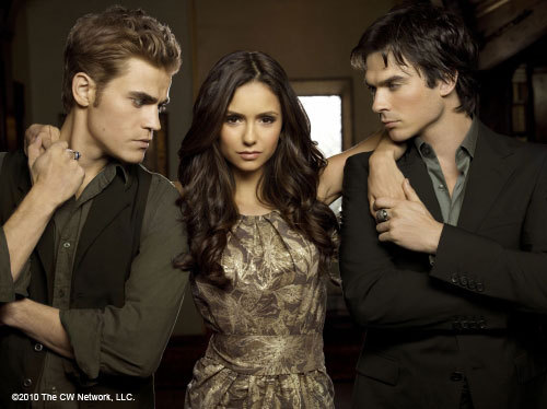 ian somerhalder, nina dobrev, paul wesley, the vampires diaries