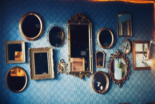 interior design, mirrors, photography, pretty, vanity, vintage, wall