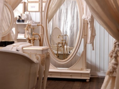 interior, mirror, pink, pretty, room, vintage