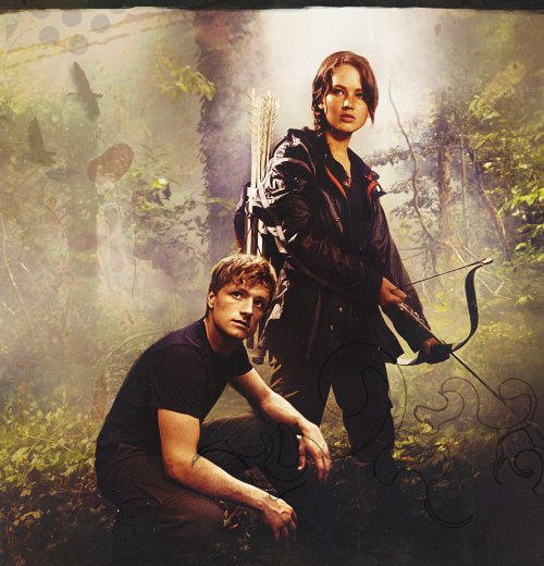 katniss everdeen, peeta mellark, star crossed lovers, the boy with bread, the girl on fire