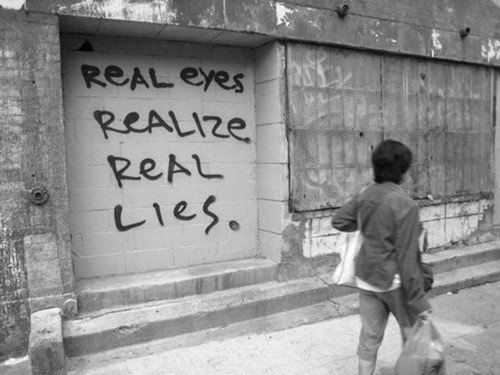 lies, meaning, real, realize, text - image #341867 on Favim com