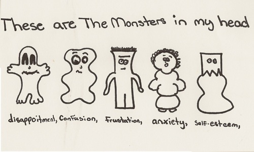 monsters, subtitle, text