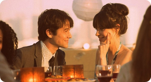*-*, 500 days of summer, 500 dias com ela, beautiful, boy, couple, cute, girl, hair, handsome, her, him, love, man, movie, passion, woman