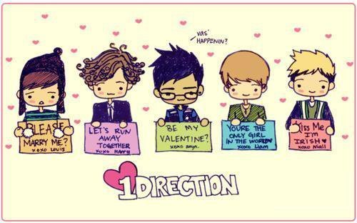 1direction, adorable, art, awwweee, cute