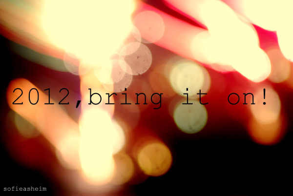 201, 2012, bring it on, new year, new years eve, pink, sofieasheim