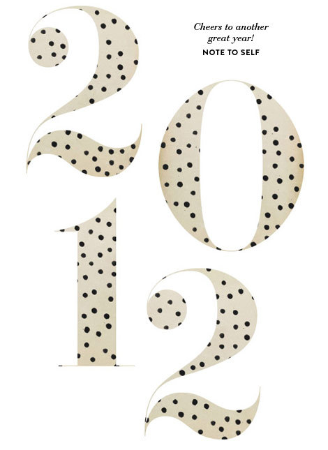 2012, 2012 new year, 2012 polka dots, cheers, cute
