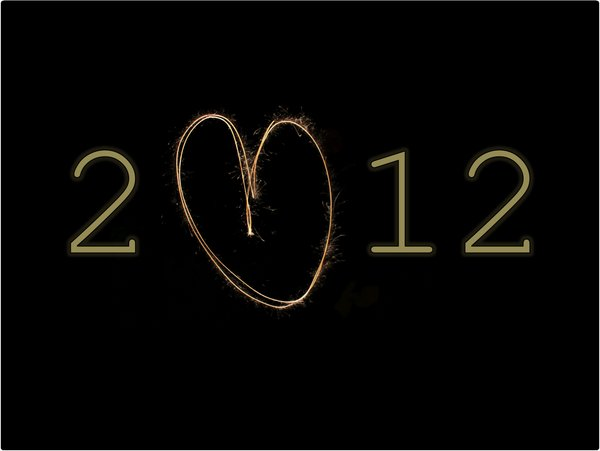 2012, black & yellow, firework, new year, tags