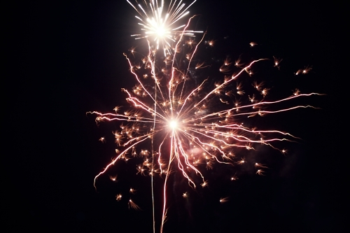 2012, firework, light, new year, night, sky