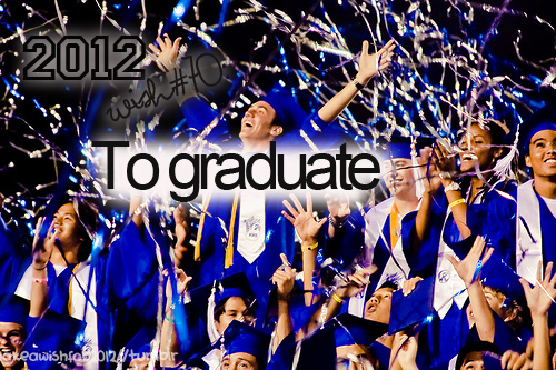 2012, graduate, photography, wish