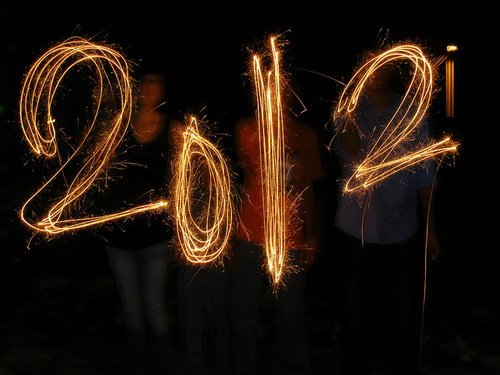 2012, happiness, happy, happy new year, hope, hopeless, lights, photography