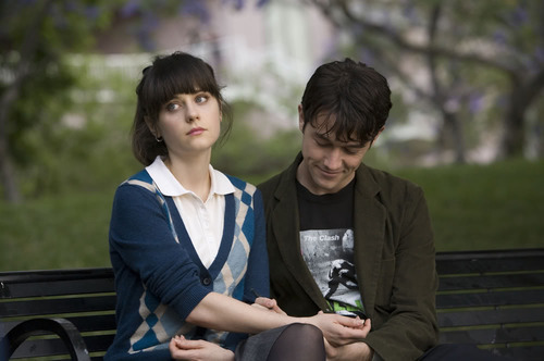 500 days of summer, couple, cute, drawing, movie