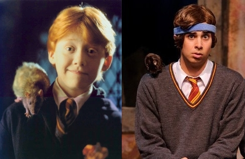 a very potter musical, avpm, funny, harry potter, joey richter, rat, ron and his rat, ron weasly, rupert grint, scabbers, team starkid
