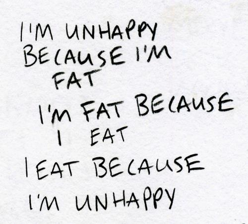 abaut my, fat, paradox, problem, text, true, unhappy, white, words