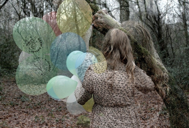 abbi leake, ballon, balloons, branches, canon