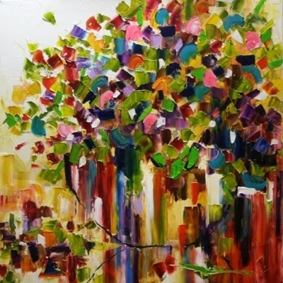 abstract, art, colourful, colours, impressionist