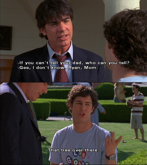 adam brody, peter gallagher, sandy cohen, seth cohen