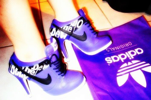 adidas, beautyful, fashiion, fashion, high heels, hiigh heels, lila, love, mode, nike, shoes, style, weheartit
