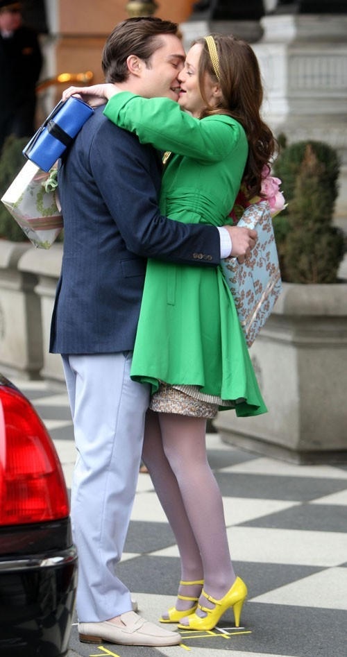 adorable, blair and chuck, couple, cute, ed westwick