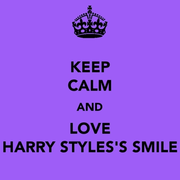 adorable, cute, harry styles, i will!, keep calm, ofcourse!, one direction, smile, yes