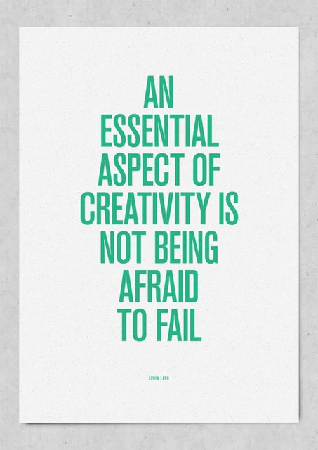 advice, afraid, aspect, creativity, dreams, essential, fail, green, inspiring, life, text, typography, words