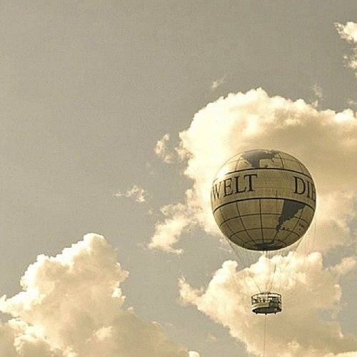 airballoon, alone, balloon, free, heaven, lost, nowhere, sky