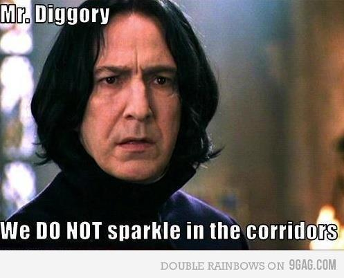 alan rickman, cedric diggory, harry potter, not funny, severus snape, snape, twilight, twishite