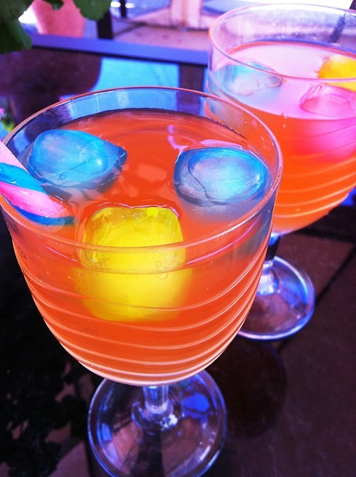 alcohol, cocktails, drinks, rainbow