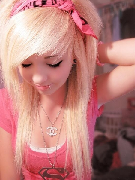 alternative, beautiful, blonde, cute, girl
