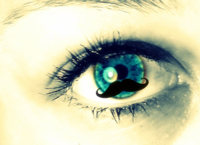 amazing, awesome, blue, blue eye, blue eyes, cool, eye, eyes, face, funny, haha, lol, moustache