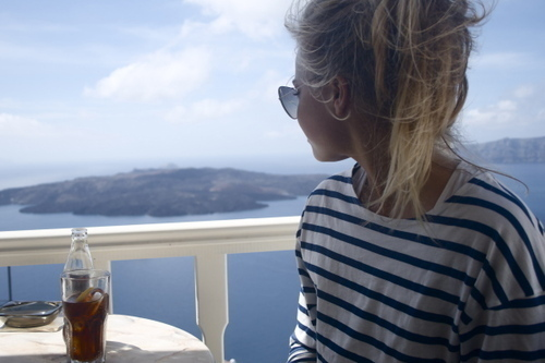 amazing, beautiful, beauty, blond, blonde, blue, girl, life, light, ocean, photo, photograph, photography, stripes