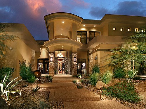 amazing, dream house, home, house, lights