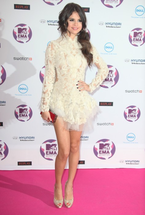 amazing, dress, selena gomez at ema