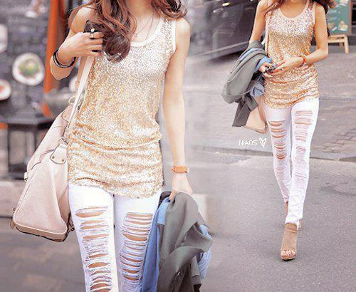 amazing outfyt, cool, girl, golden, jeans, white
