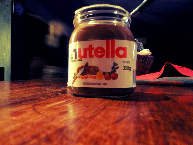 amor, food, love, nutella, photography