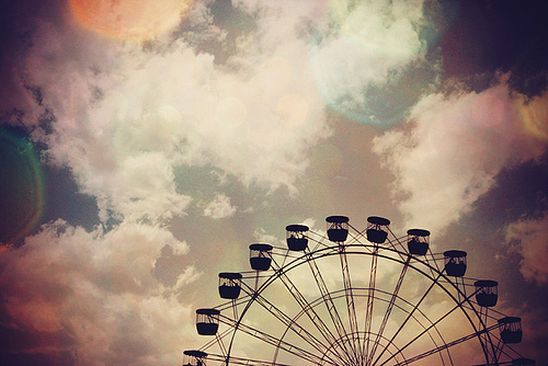 amusement park, beautiful, beauty, big sur, clothes vintage, clouds, color, dream, ferris wheel, fun, landscape, light, london, milano, monterey, moscow, paris, park, photo, photography, russia, sky, sunset, winter